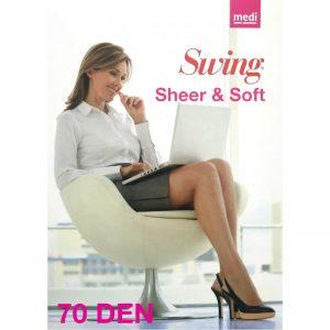 COLLANT SWING SHEER&SOFT 70 D