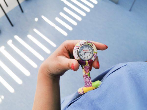 orologio in silicone